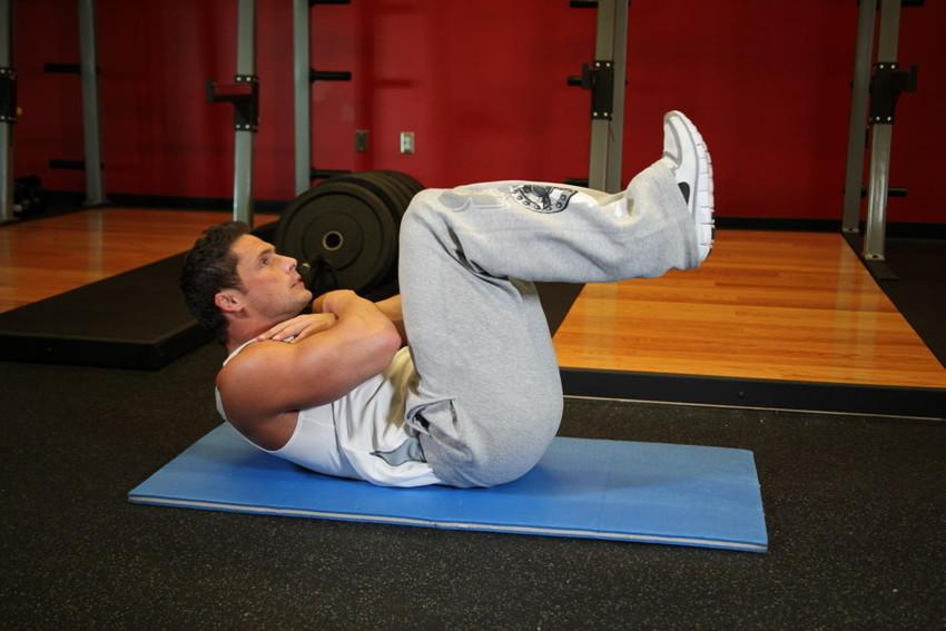Укрепление мышц брюшной полости у спортсменов при простатите