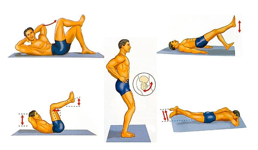 Комплекс профилактических упражнений